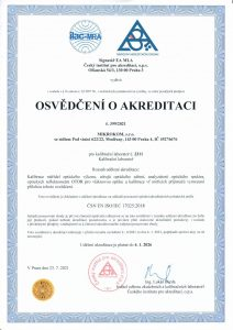 Osvedcenio akreditaci2021